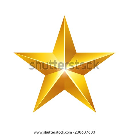 gold star elegant