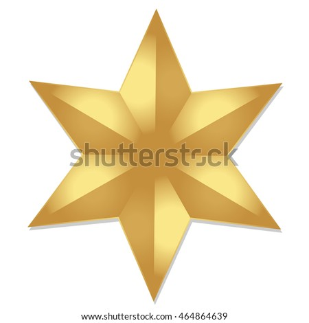 Gold Star Icon Star Icon Star Stock Vector 464864639 Shutterstock