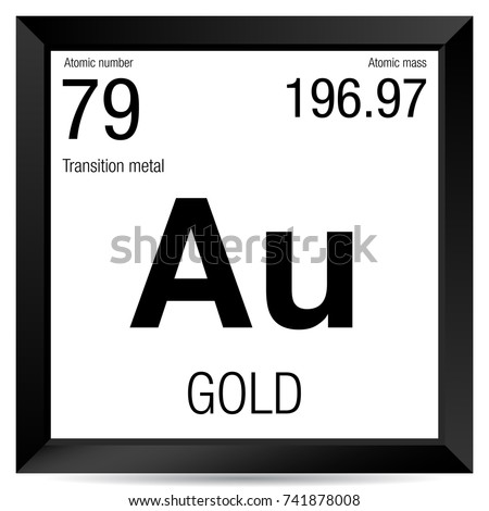 Neon symbol element number 10 periodic stock vector 741877996 gold symbol element number 79 of the periodic table of the elements chemistry urtaz Image collections