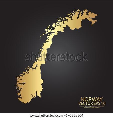 Vietnam Map Shape Provinces Stock Vector Shutterstock - Norway map eps