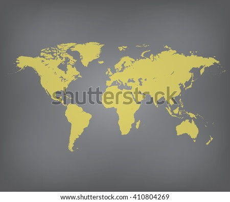 Gold world map vector illustration stock vector hd royalty free gold world map vector illustration gumiabroncs Choice Image
