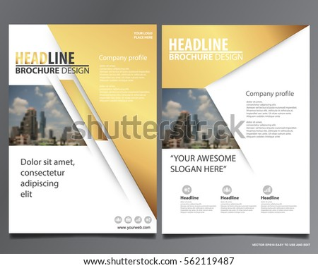 Portfolio Design Images RoyaltyFree Images Vectors – Company Portfolio Template