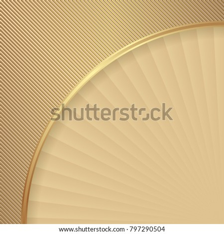 golden abstract textured background
