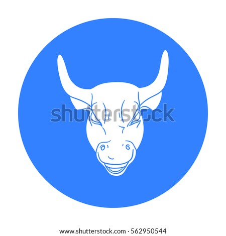Golden Charging Bull icon in black style isolated on white background. Money and finance symbol stock vector illustration.