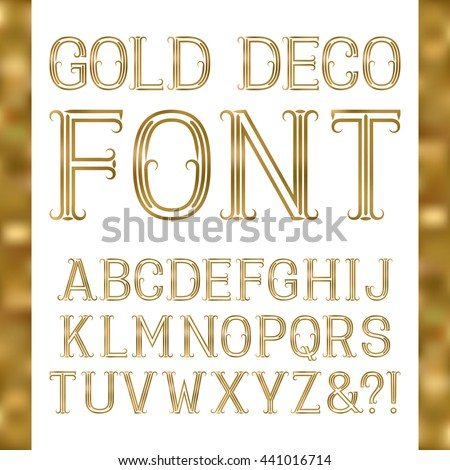 gold lettering font golden letters stock images royalty free images amp vectors 29929