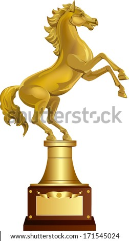 Golden Horse Award - stock vector