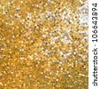 Golden mosaic. Abstract background. EPS 8 vector file included - stock vector