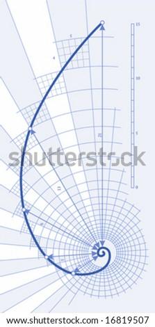 Golden Ratio (Golden Proportion) - stock vector