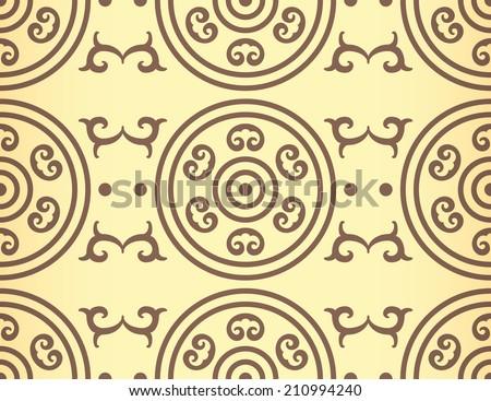 Golden Ratio Ornament v. 6 (Vector) - stock vector