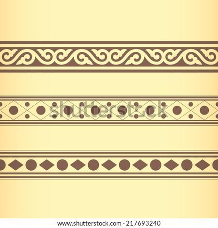 Golden Ratio Ornament v. 19 (Vector) - stock vector