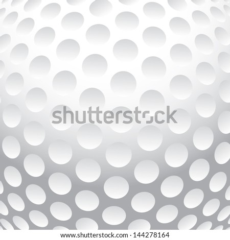 Golf ball background vector - stock vector