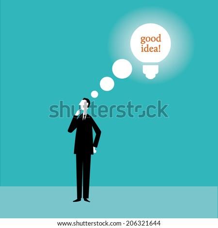 Good Idea - stock vector