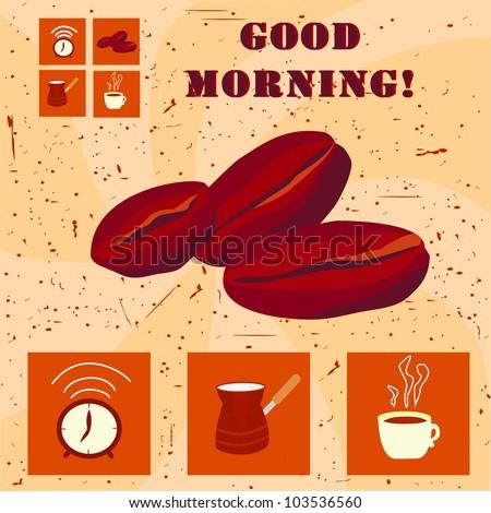 Good morning! - stock vector