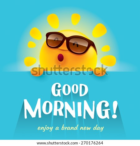 Good Morning! - stock vector