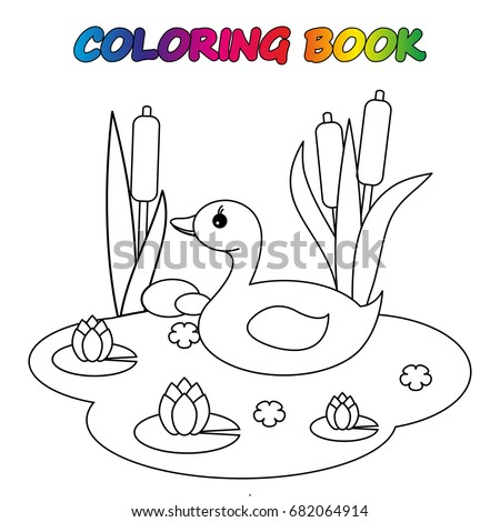 goose coloring book coloring page to educate preschool kids game for preschool kids - Coloring Worksheet For Kids