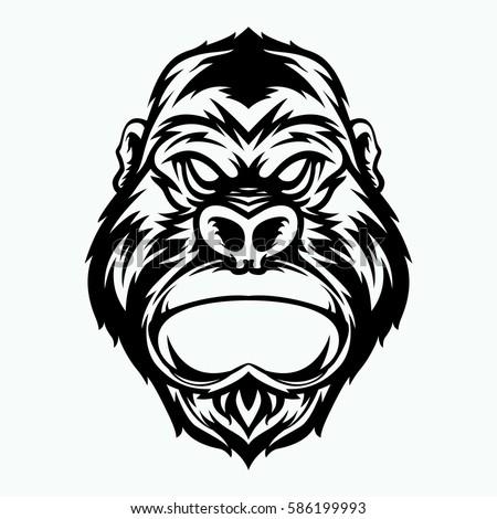 screaming chimp stock photos royaltyfree images