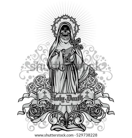 Indian goddess lakshmi sitting on lotus stock vector for Lakshmi coloring pages