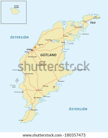 Gotland Banque Dimages Dimages Et Dimages Vectorielles Libres - Sweden map gotland