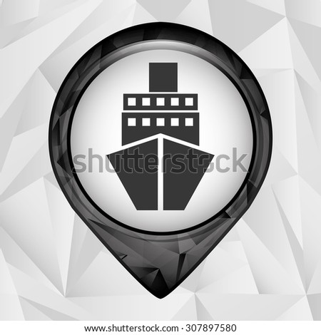 gps signal design, vector illustration eps10 graphic