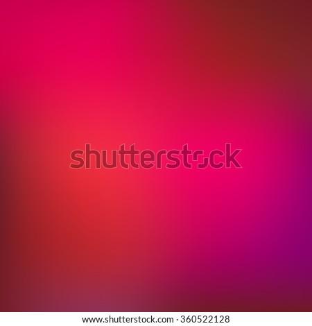 Gradient pink abstract vector blur background. - stock vector
