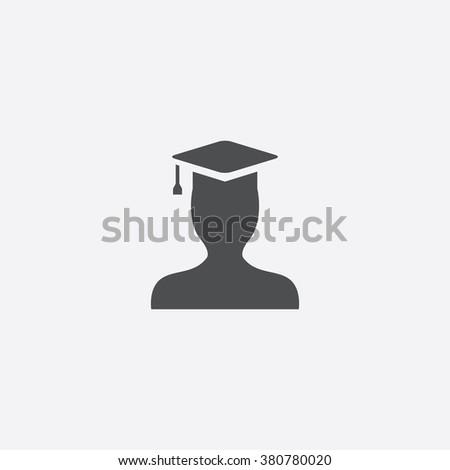 graduate Icon. graduate Icon Vector. graduate Icon Art. graduate Icon eps. graduate Icon Image. graduate Icon logo. graduate Icon Sign. graduate Icon Flat. graduate Icon design. graduate icon app - stock vector