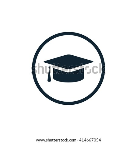 Graduation Cap Icon, Graduation Cap Icon Eps10, Graduation Cap Icon Vector, Graduation Cap Icon Eps, Graduation Cap Icon Jpg, Graduation Cap Icon Picture, Graduation Cap Icon Flat - stock vector