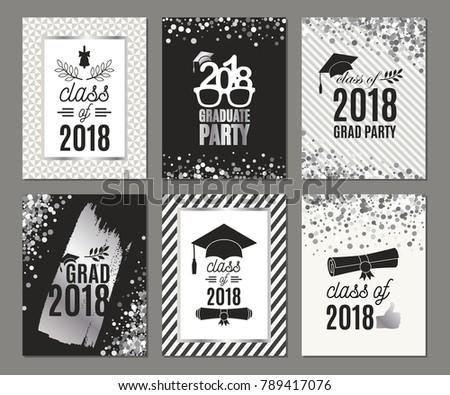2018 graduation party invitations