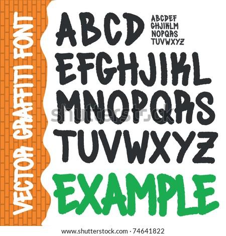 Pictures graffiti fonts a z graffiti fonts graffiti alphabet letters
