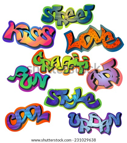 Word Seth In Bubble Letters