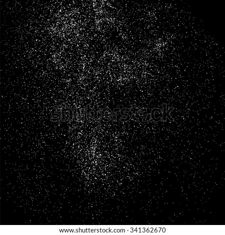 Grainy abstract  texture on a black background. Snow texture. Design element. Vector illustration,eps 10. - stock vector
