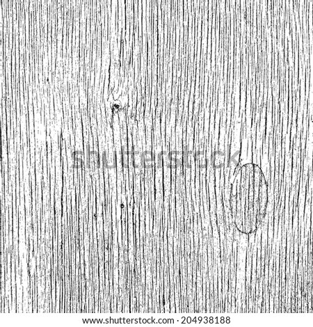 Grainy Wooden Overlay Texture for your design. EPS10 vector. - stock vector