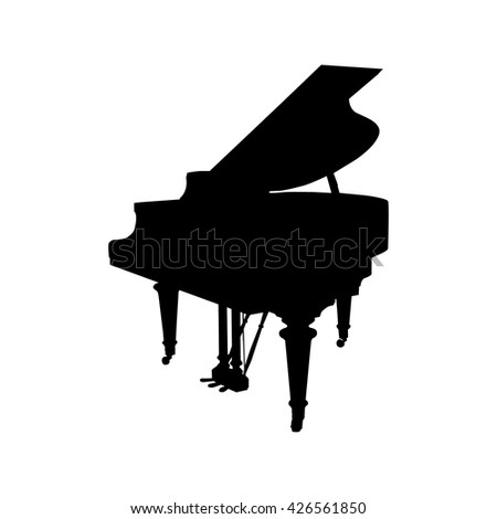 Grand Piano Silhouette | www.pixshark.com - Images ...
