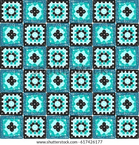 Knitted Granny Square Patterns : Crochet Lace Stock Images, Royalty-Free Images & Vectors Shutterstock