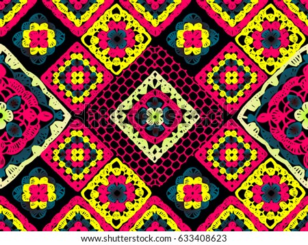 Knitted Granny Square Patterns : Crochet Stock Images, Royalty-Free Images & Vectors Shutterstock