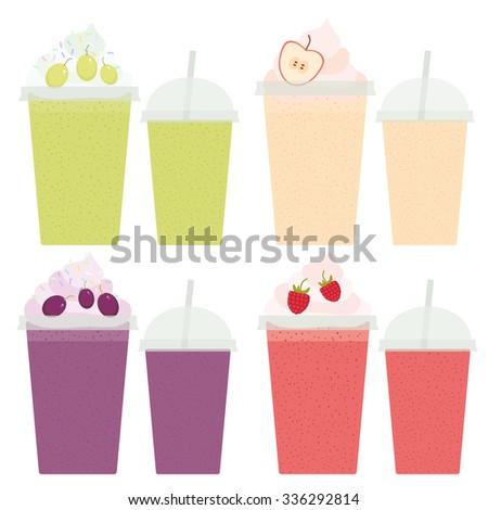 Juice Plastic Cup Stock Vectors, Images & Vector Art   Shutterstock