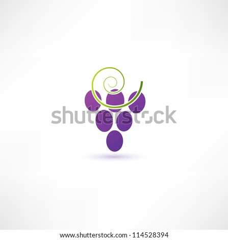 grapevine sign - stock vector