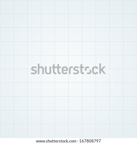 Graph grid paper vector illustration.