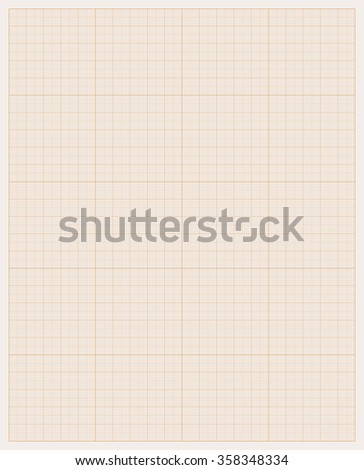 Graph paper - stock vector
