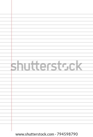 graph paper lined graph paper a 4 stock vector 794598790 shutterstock