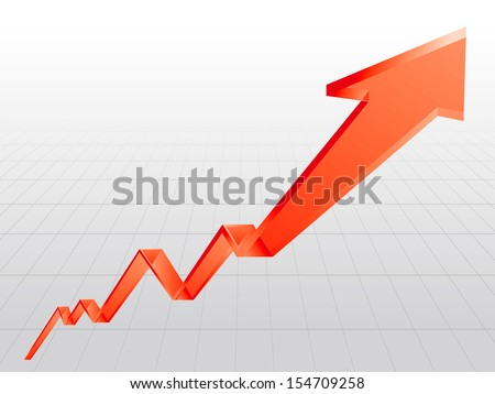 graph Vector  - stock vector