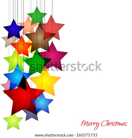 Graphic design - Star, Christmas, blue