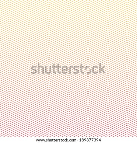 Graphic Line of illusion pattern - stock vector