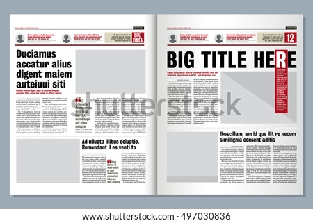 Tabloid Newspaper Design Ideas | www.pixshark.com - Images ...