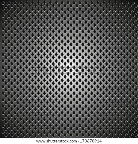 Grating square Background Black
