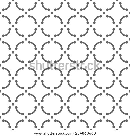 gray abstract seamless pattern background - stock vector