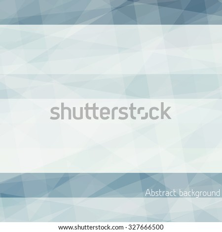 Gray abstract subtle background with textured horizontal stripes. Graphic vector pattern - stock vector
