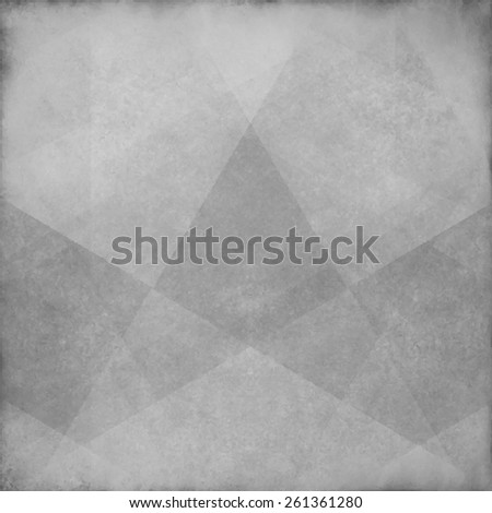 gray background vector paper with triangle abstract shapes layered with grunge texture fading for vintage style design - stock vector