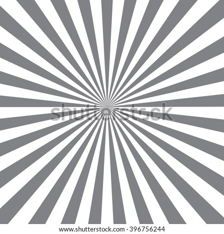 gray background with rays - stock vector