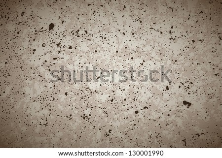 Gray concrete vector background - stock vector
