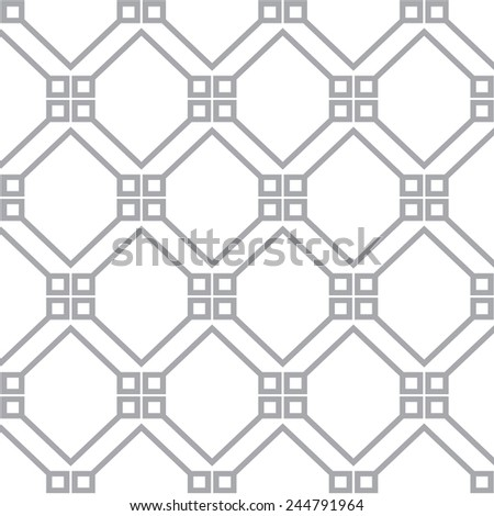 gray geometric pattern, background vector.
